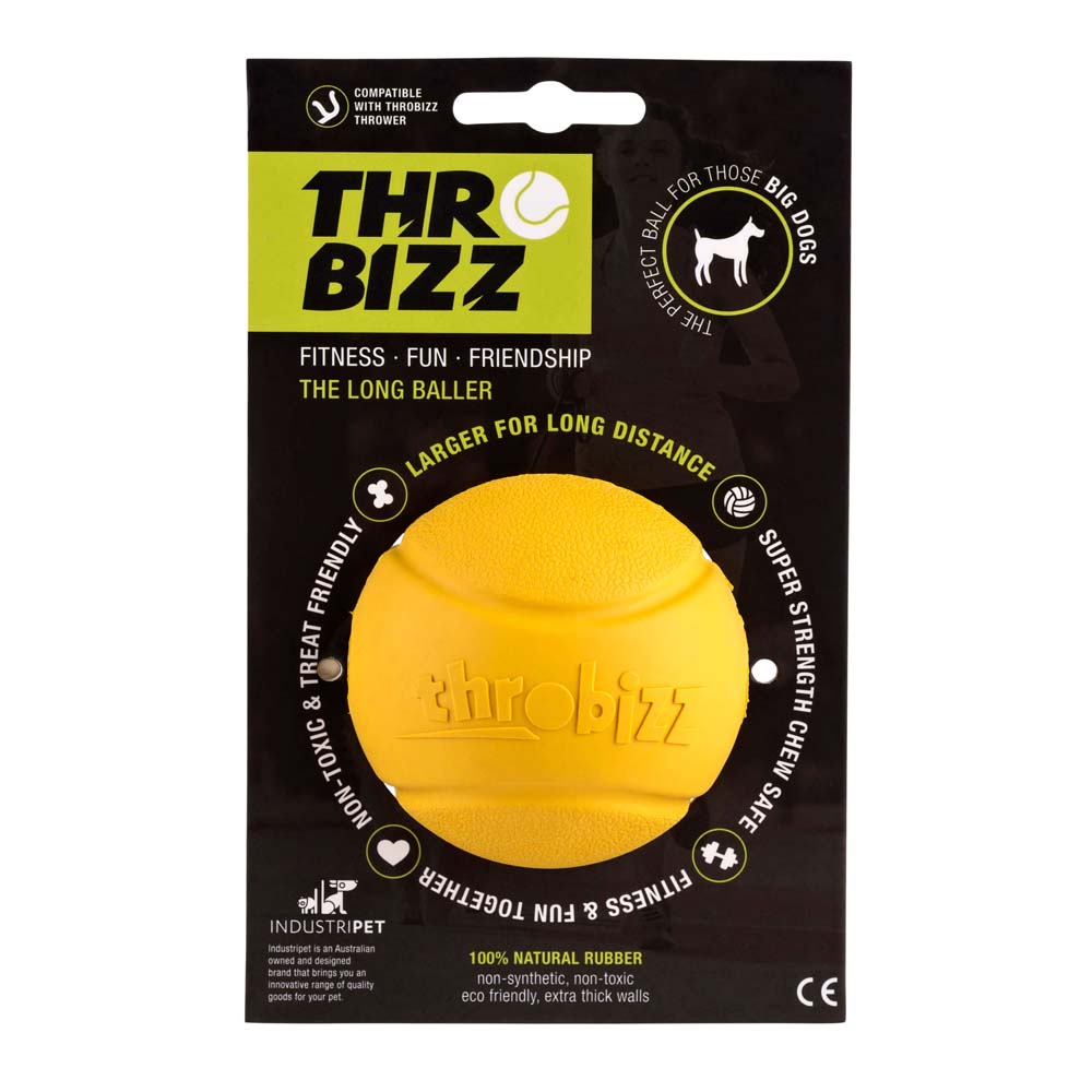 yellow ball for dogs