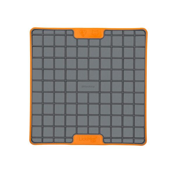 LickiMat Tuff Playdate Orange