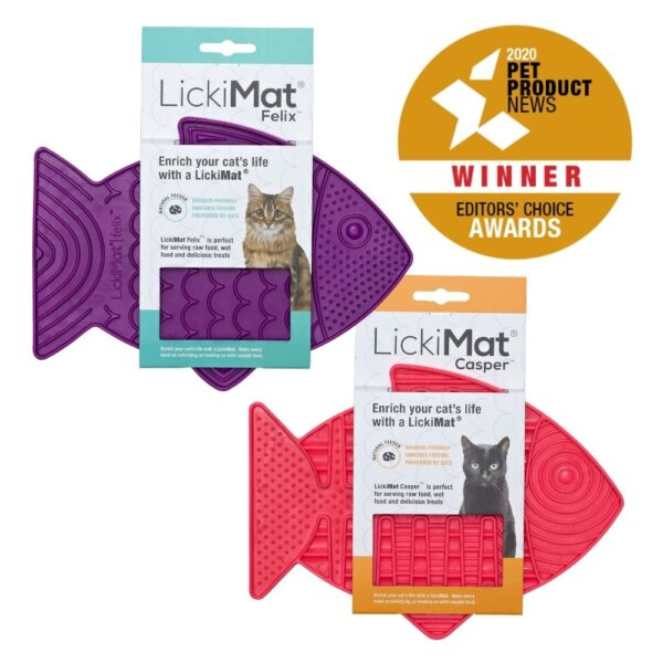 Award winning cat products