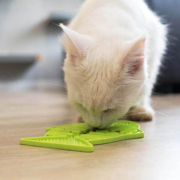 LickiMat Casper cat slow feeder