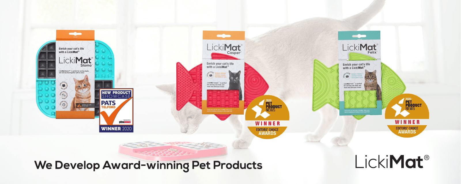 award winning pet products